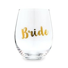Weddingstar Bride - wijnglas