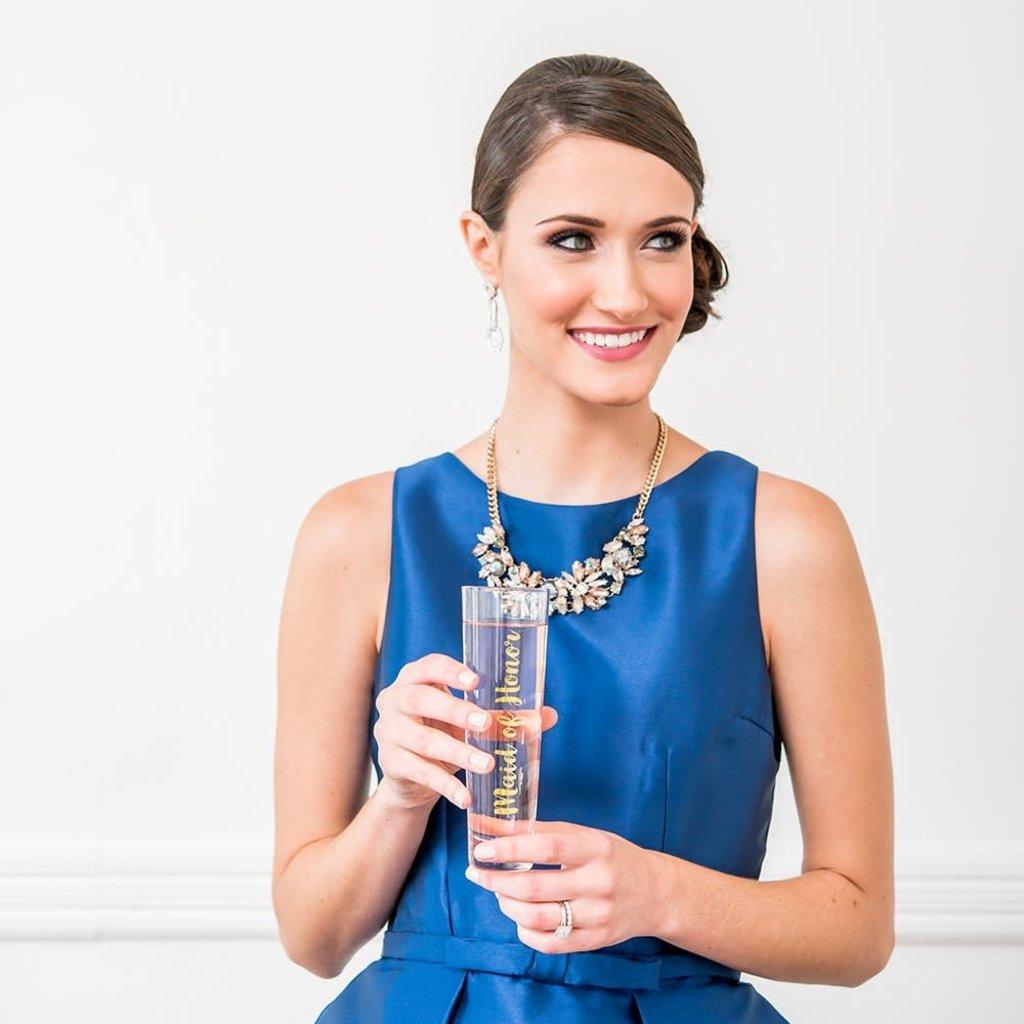 Weddingstar Maid of Honor - champagneglas