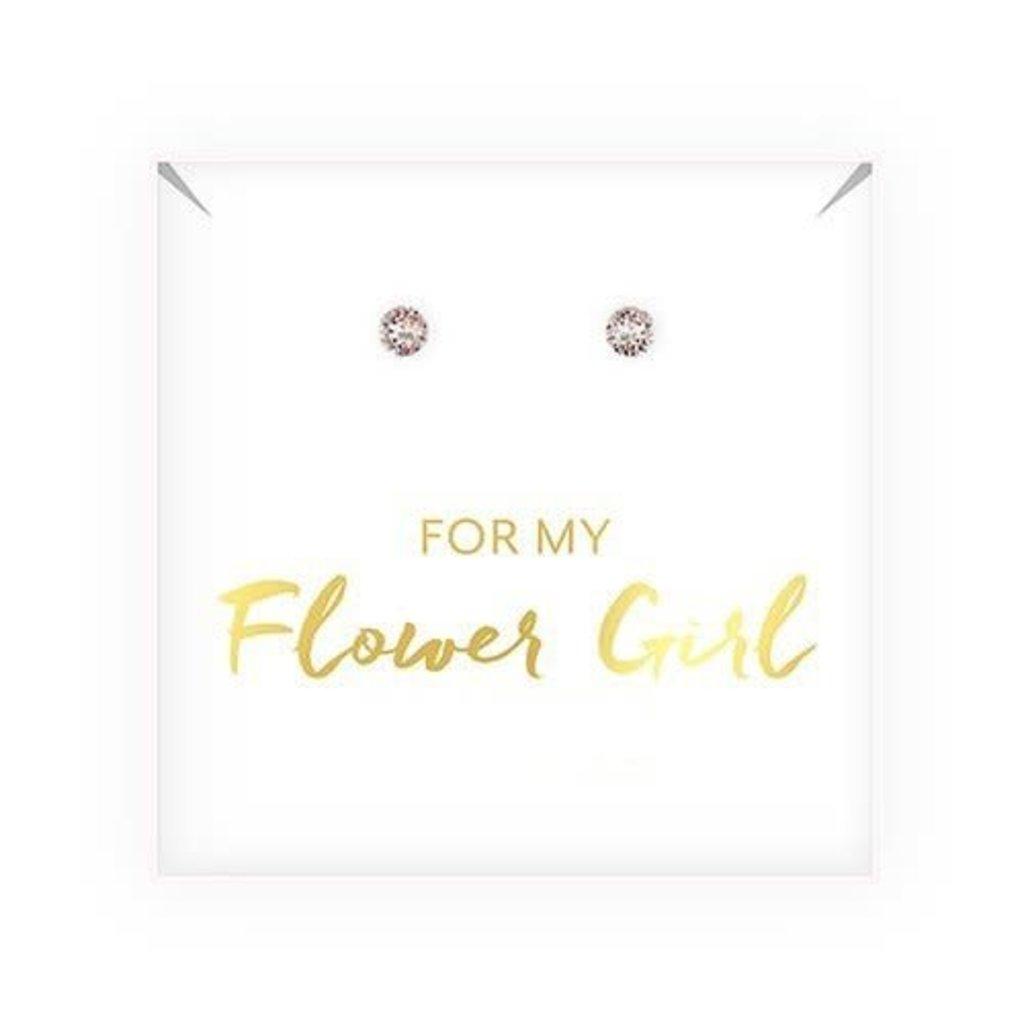 Weddingstar Flower Girl - oorbellen