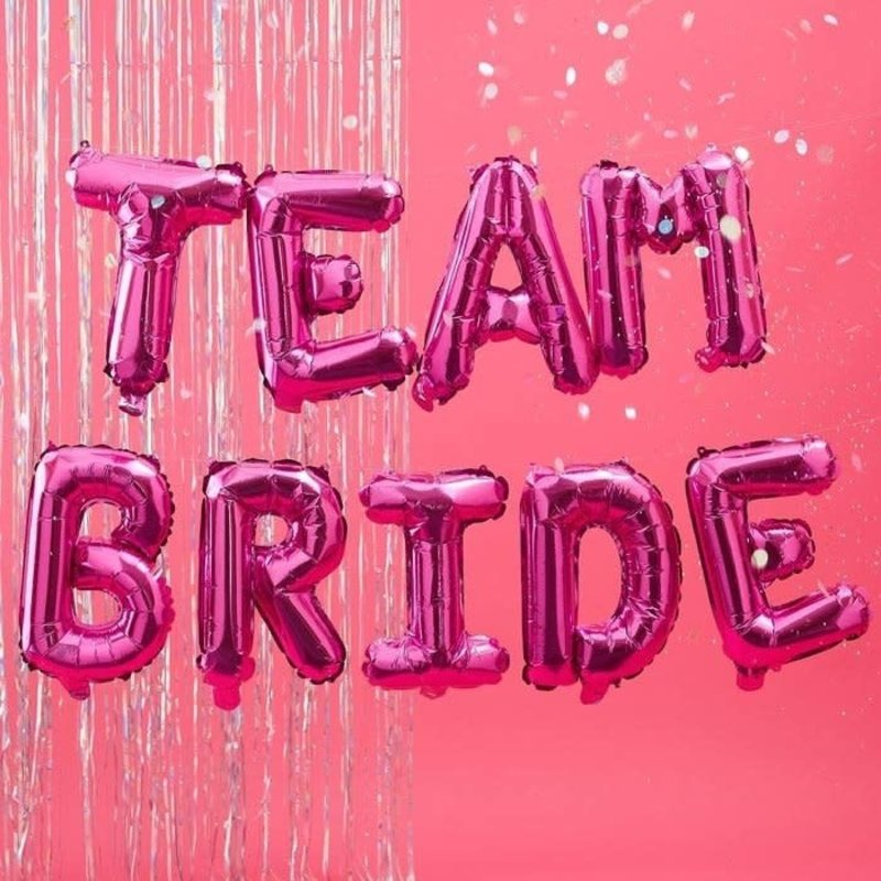 Ginger Ray Team Bride - folieballon