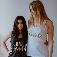 M-shirt 'Bride' tanktop