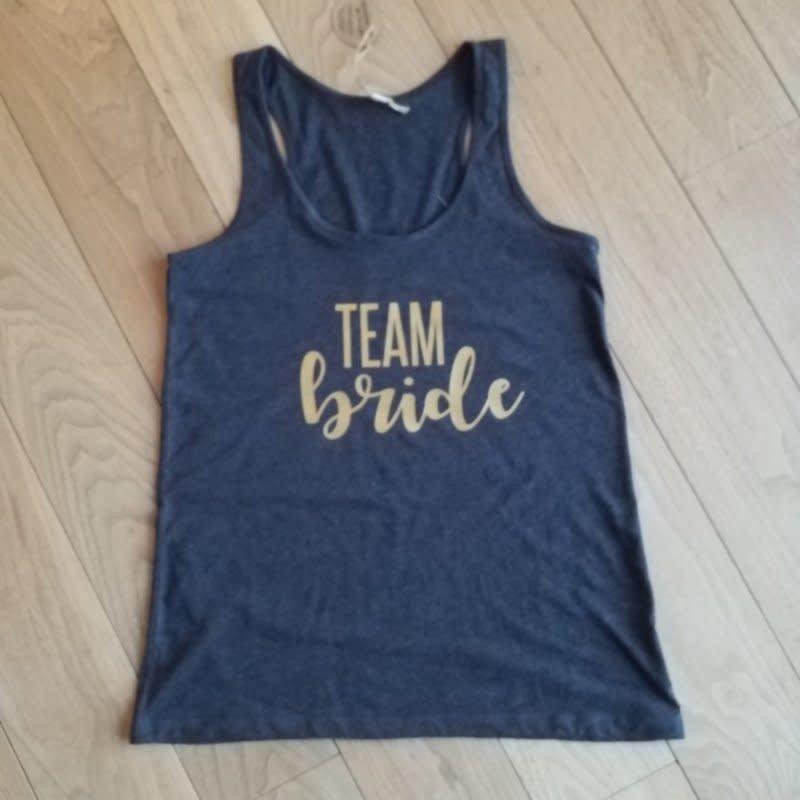 M-shirt 'Team Bride' tanktop