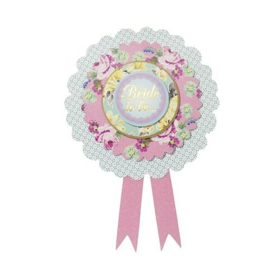 Talking Tables Bride to Be - Badge