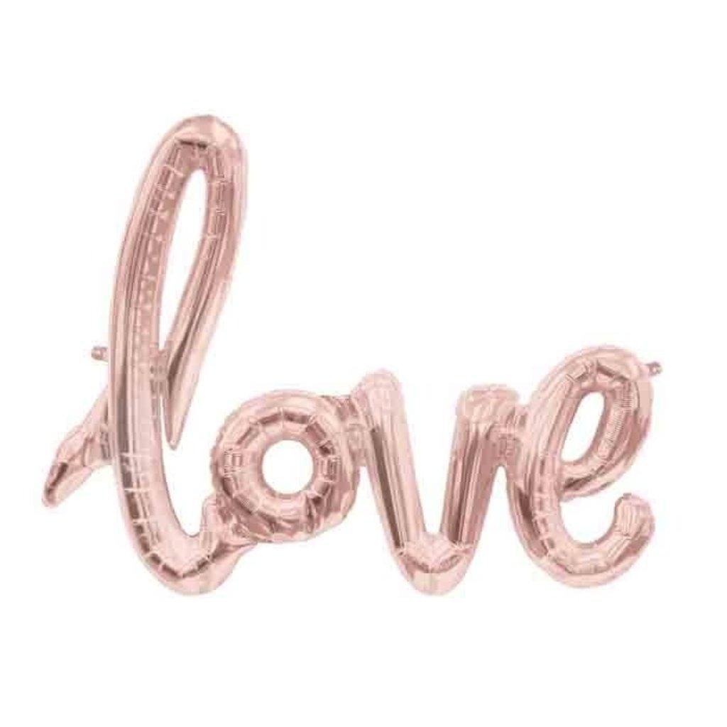 North Star Balloons Folieballon - LOVE