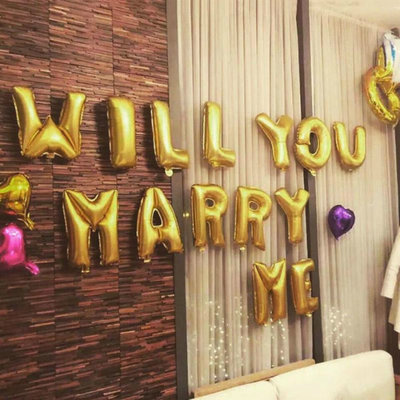 Marry Me - folieballon