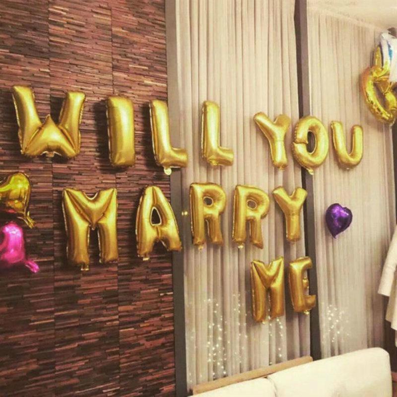 Marry Me - folieballon