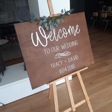 Welkomstbord (gepersonaliseerd)