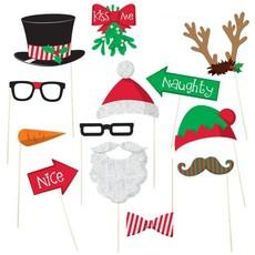 Christmas photobooth props