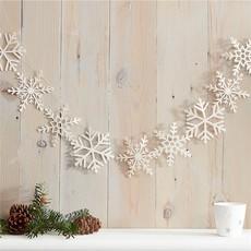 Slinger - Glitter sneeuwvlok 1.5m