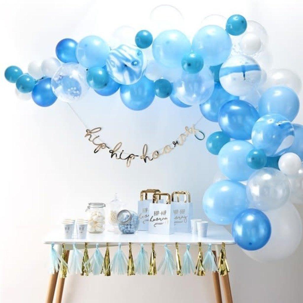 Ginger Ray Ballonnenboog (blauw)