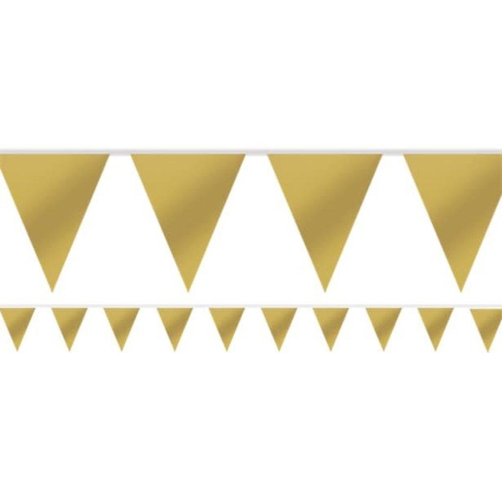 Gouden vlaggenslinger