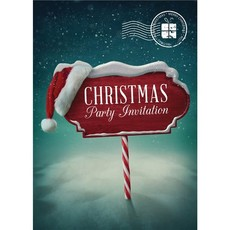 Christmas invitations (8st.)