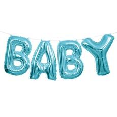 BABY folieballon (blauw)