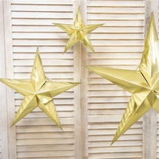 Deco - gouden ster