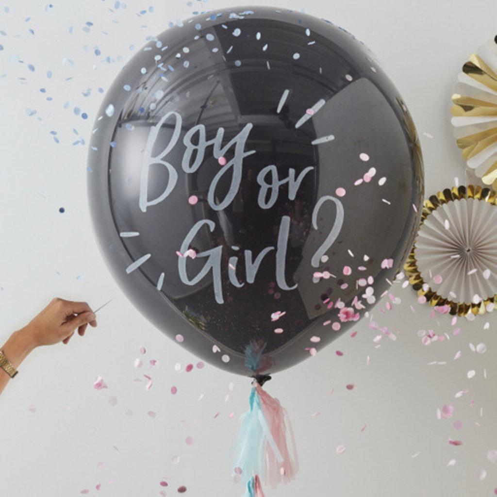 'Oh baby' megaballon - gender reveal