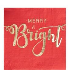 Merry & Bright - servetten (20st.)