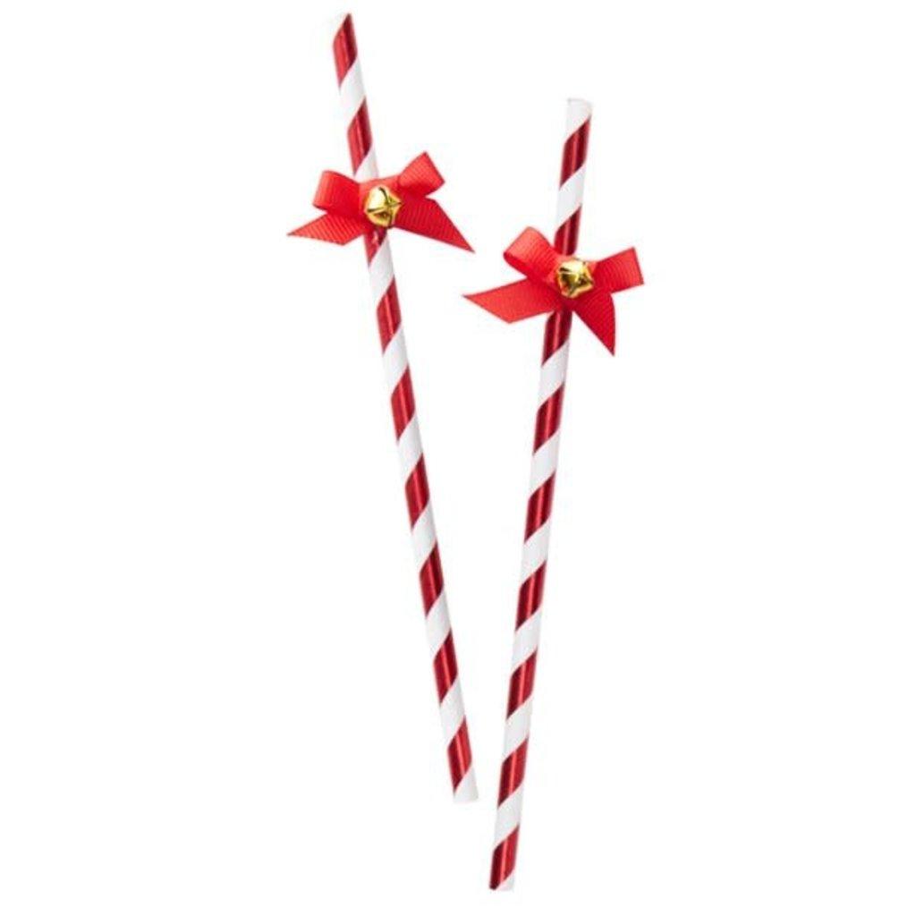Merry & Bright - papier rietjes (10st.)