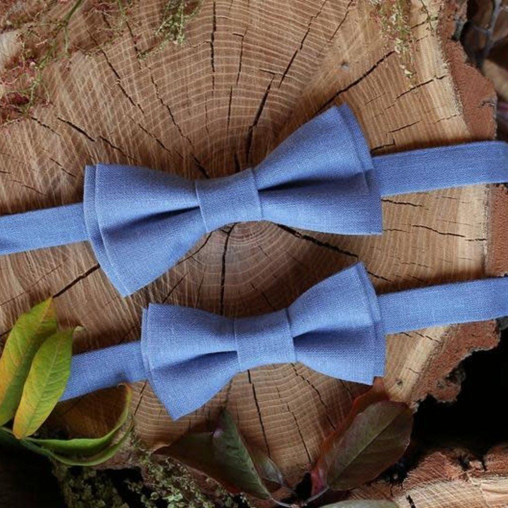 Father & Son Bow-Tie // Marina Blue