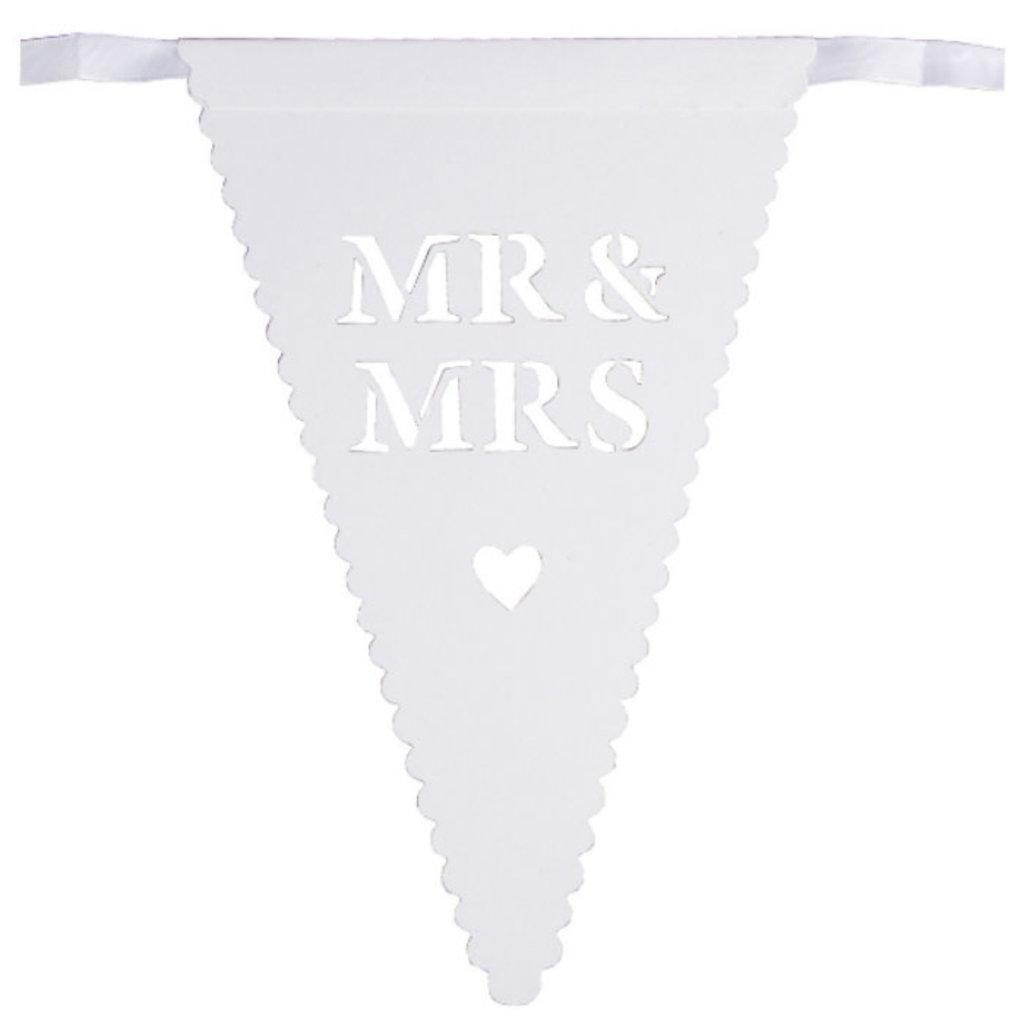 Mr & Mrs slinger (wit)