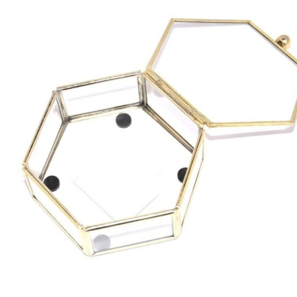 Ringdoosje Hexagon