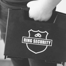 Ring security box + Badge