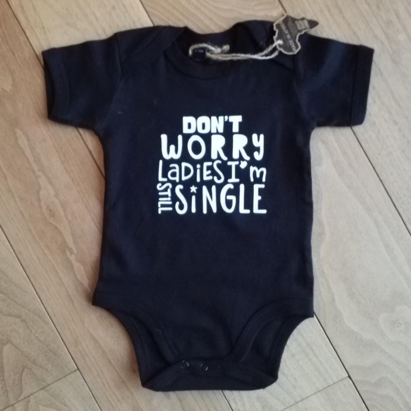 I'm still single - baby romper