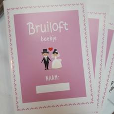 Bruiloft kids boekje