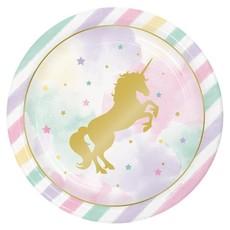Unicorn Sparkle - Bordjes (8 st.)