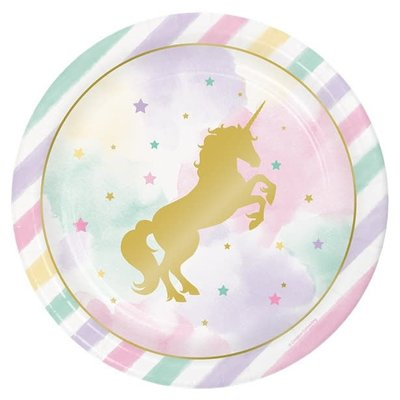 Unicorn Sparkle - Bordjes (8 st.)