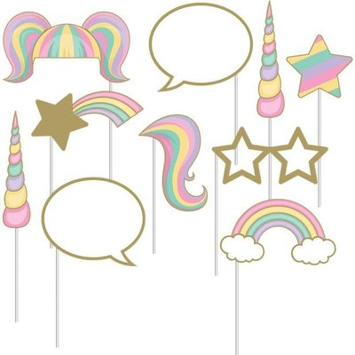 Unicorn Sparkle - Photobooth props