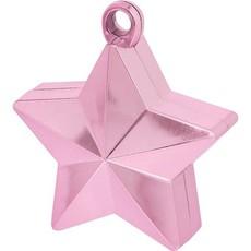 Ballongewicht ster roze - 130gr.