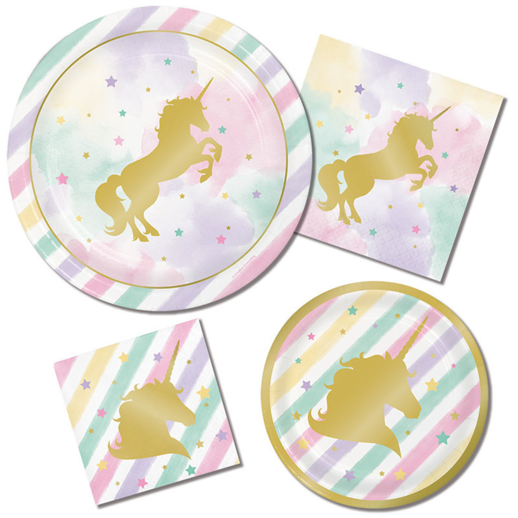 Unicorn Sparkle - Bekers (8 st.)