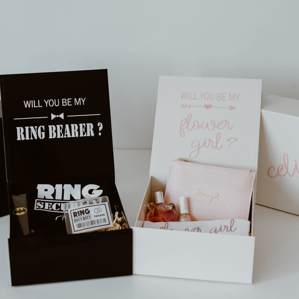 the wedding agency Ring Security - Box