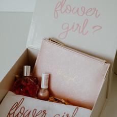 the wedding agency Flower girl - Box