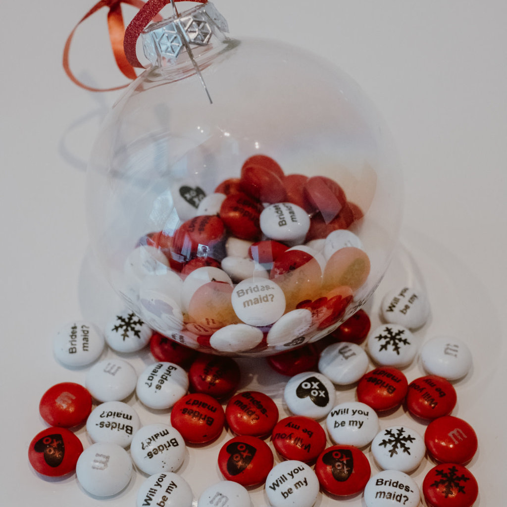 The Wedding & Party Shop M & M's kerstbal