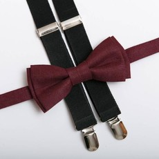 Bow Tie (mini) // Burgundy