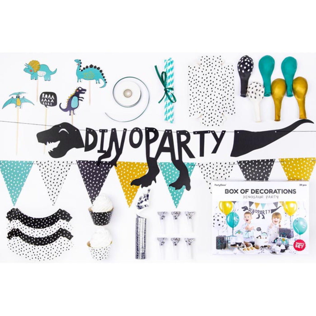 Dinosaur Party - box