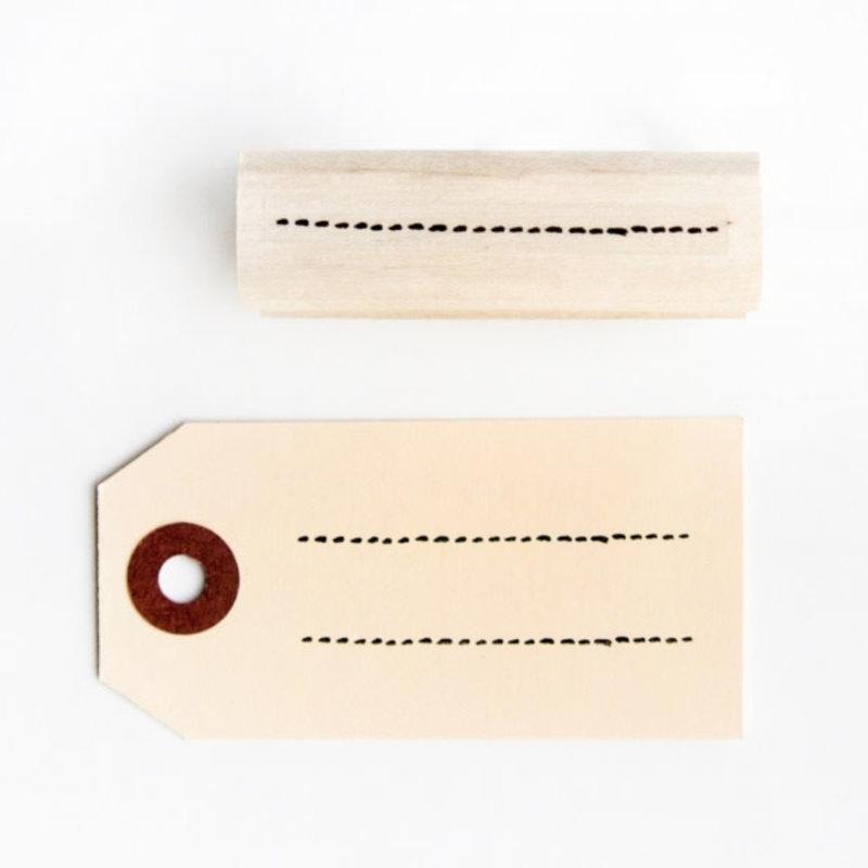 Dreamkey design Stempel - Stippellijn