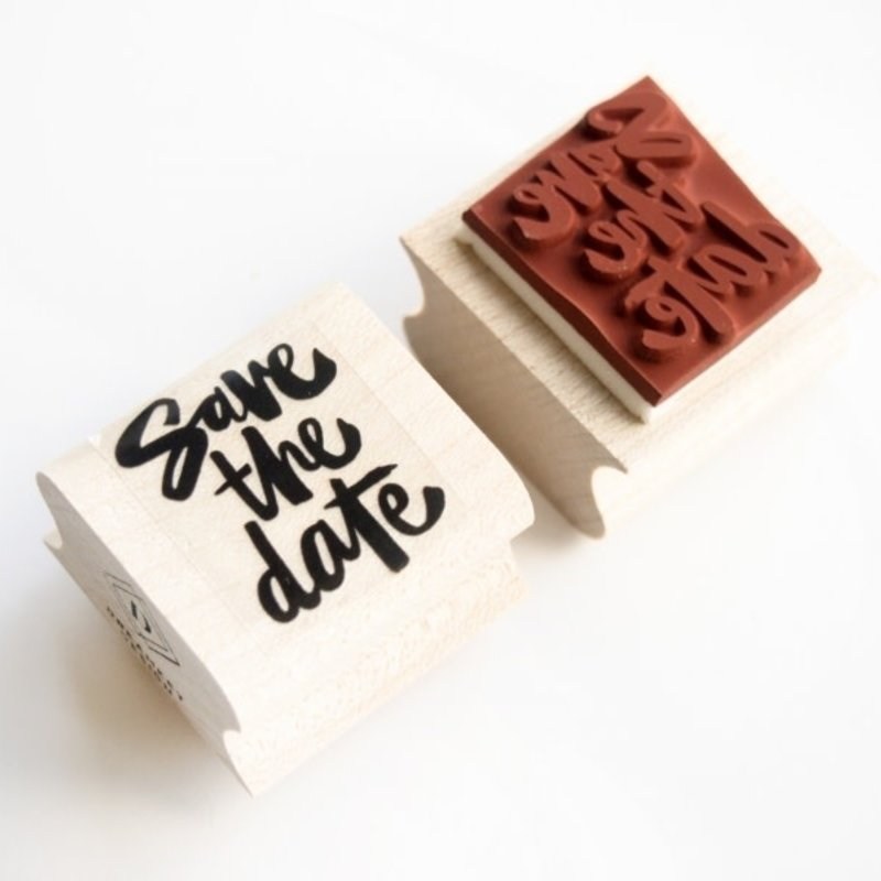 Dreamkey design save the date stempel