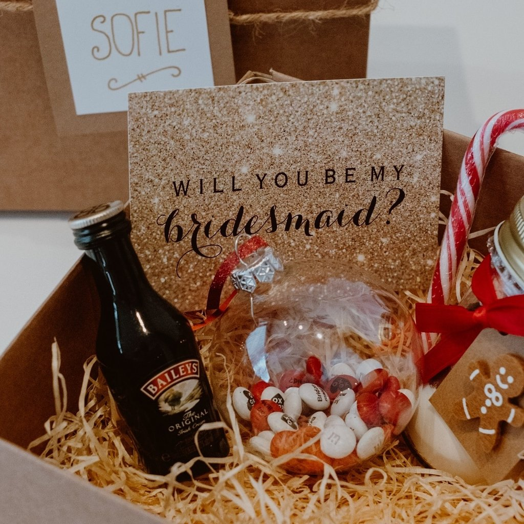 Bridesmaid Box - Christmas edition