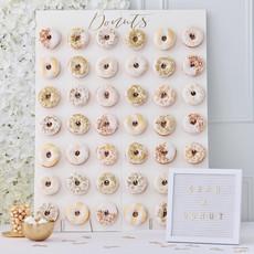 Gold Wedding - XL Donutwall