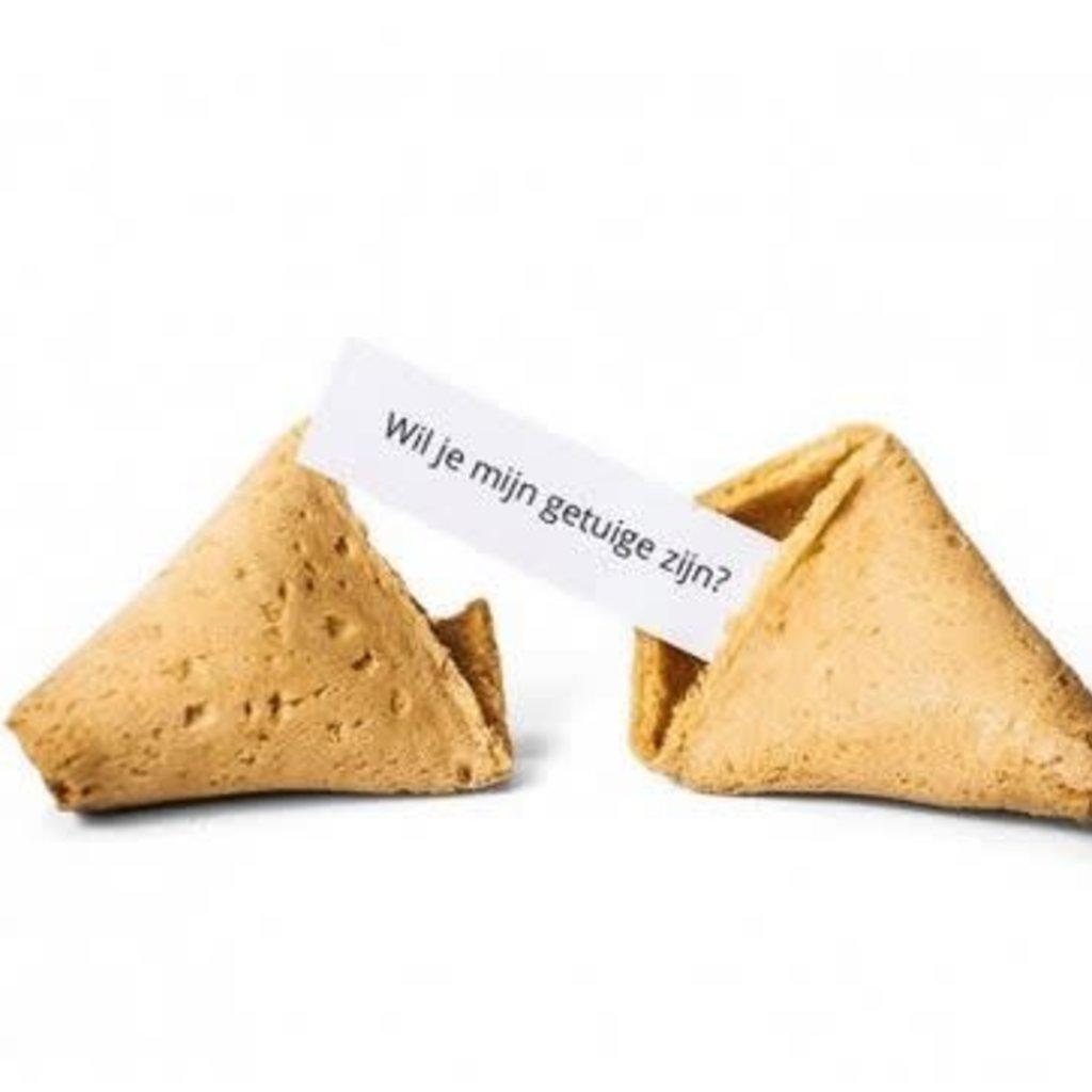 Fortune cookie - Wil je mijn getuige zijn?