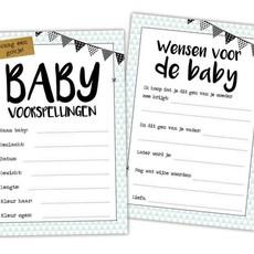 Hippekaartjes.nl Baby invulkaarten