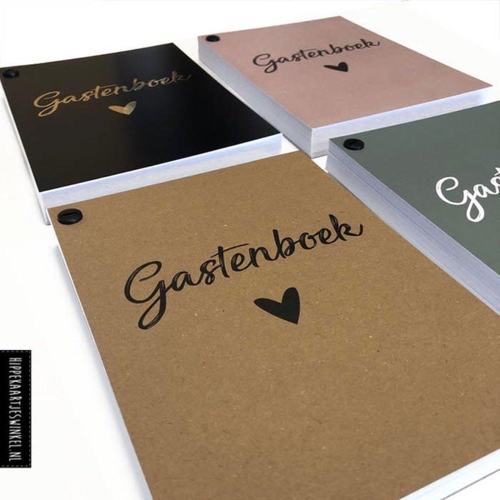Hippekaartjes.nl Gastenboek invulkaarten (25st.)