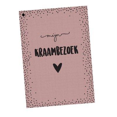 Hippekaartjes.nl Kraambezoekboek