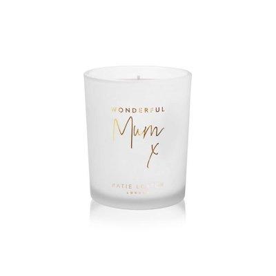 Sentiment candle - Wonderful mum