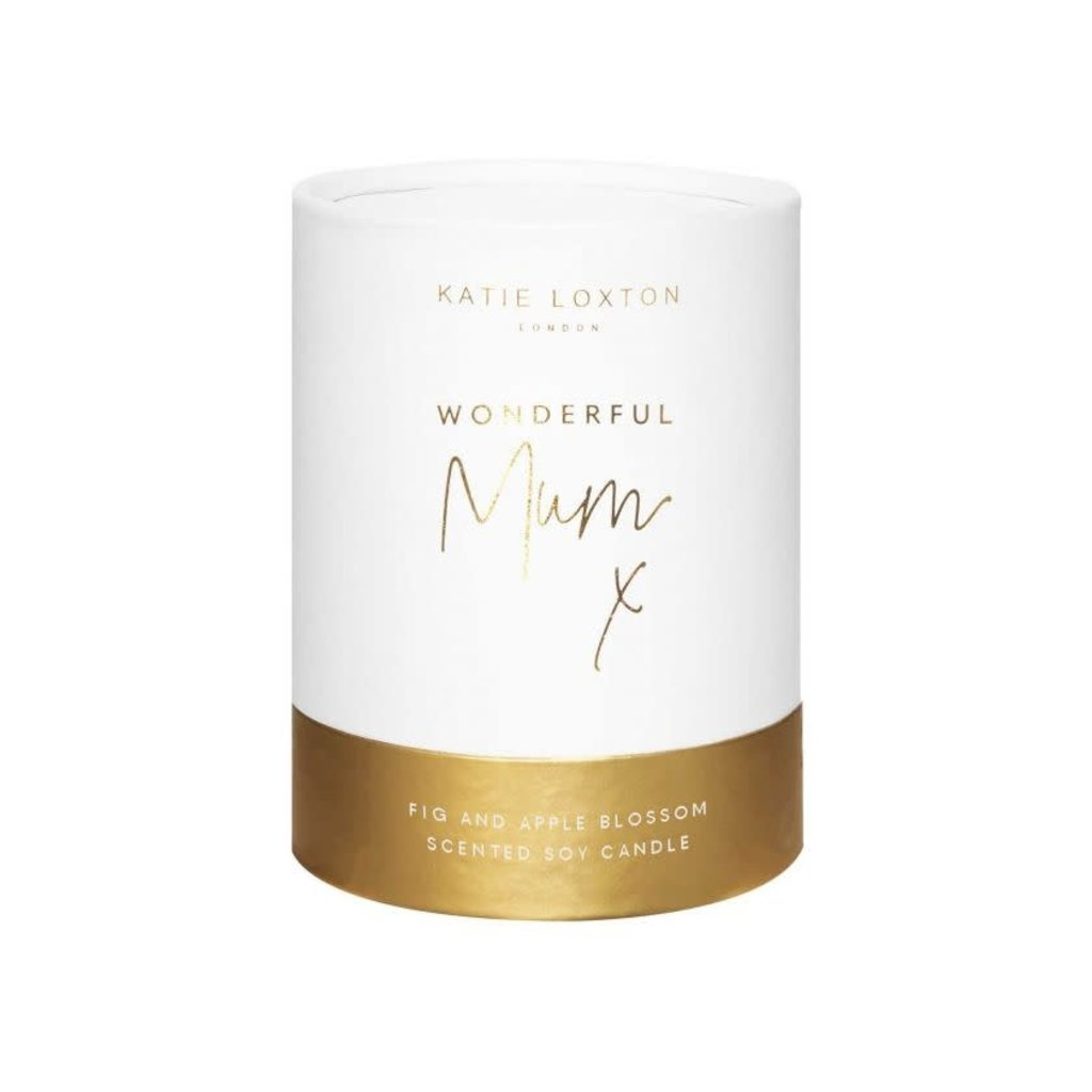 Katie Loxton Sentiment candle - Wonderful mum