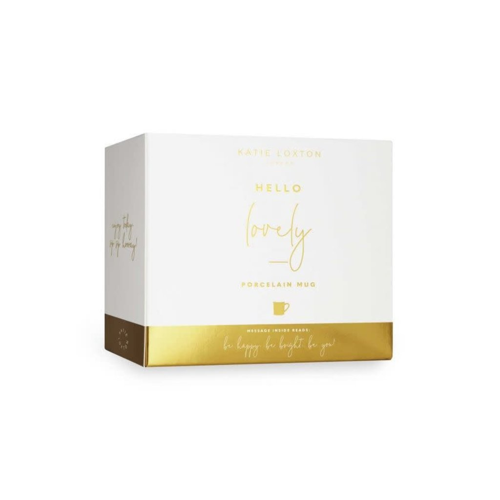 Katie Loxton Gift Boxed Mug - Hello Lovely