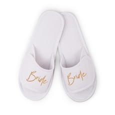 Weddingstar Slippers - Bride