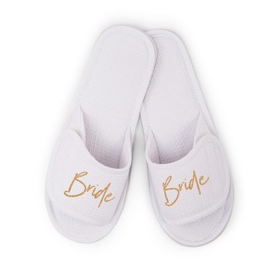 Weddingstar Slippers - Bride